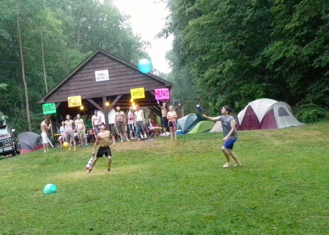 Camping games in the wisconsin wilderness. The American's response to Quiditch.
