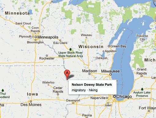 Wisconsin State Park Maps, public