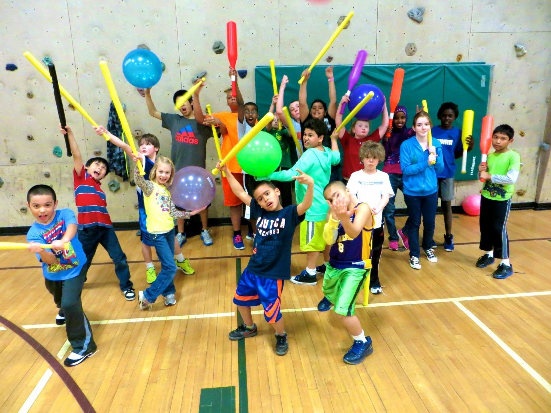 Bryan Atchinson of local Minnesota band KOO KOO KANGA ROO introduced the sport of Johnball to young children at multiple YMCA's, including Southdale Edina, MN. Fun indoor gym team games for kids, gym class, summer camps, afterschool care.